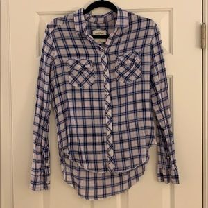 Abercrombie & Fitch Plaid Button Down